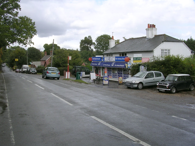 Bramshaw Post Office and stores, Brook Hill, New Forest