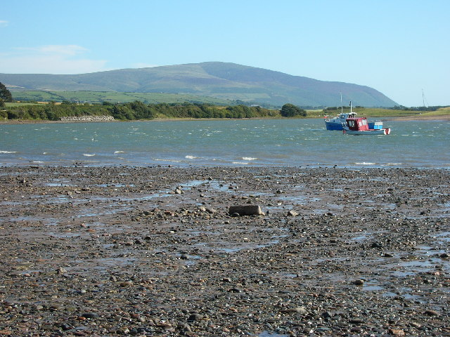 Black Combe Hill from Ravenglass Beach