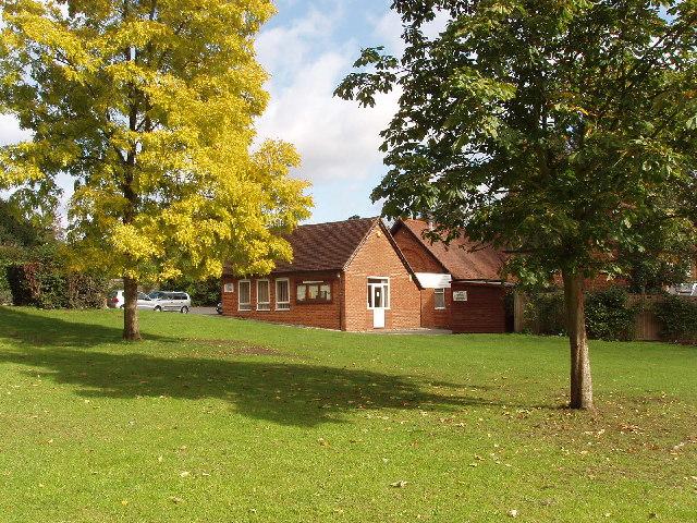 Taplow village hall and village green