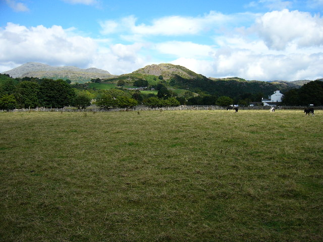 View towards the fells from Dalegarth Station