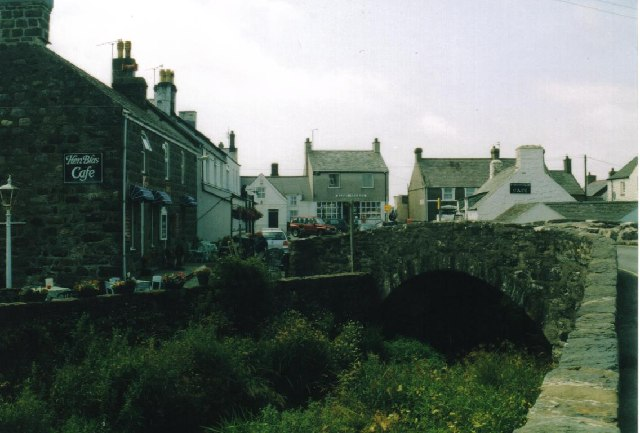 Aberdaron Bridge Into Village