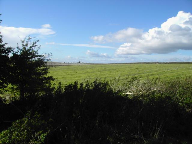 Farmland north of Compton