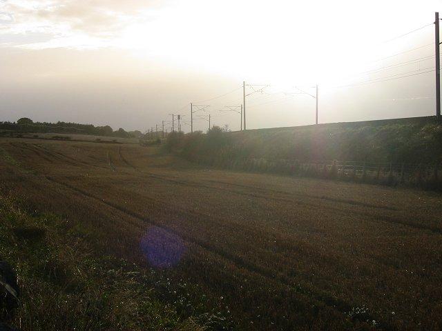 East Coast main line.