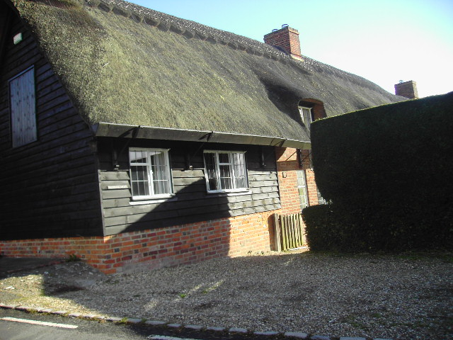 Thatched cottage at Aldworth