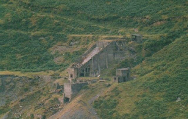 Disused Quarry Building