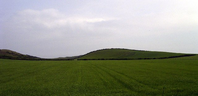 The hill north-east of Ballavair, Bride
