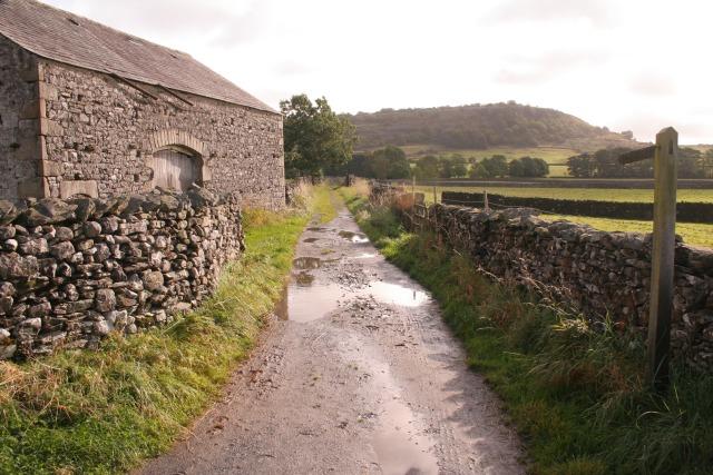Bridleway near Austwick