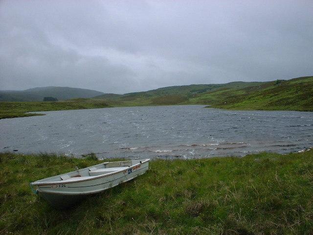 A tiny hill top Loch, Lochan na Cuidhe