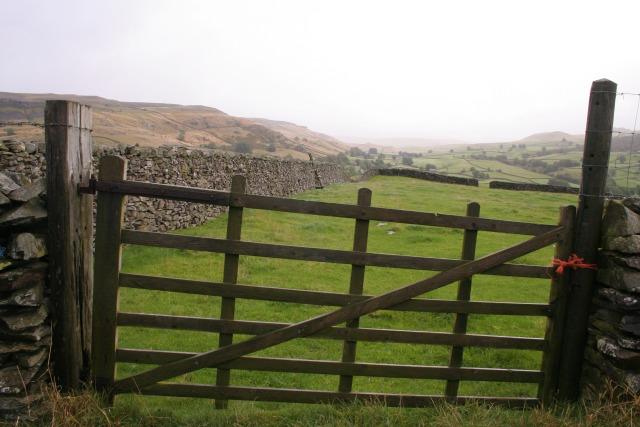 Gate, Crummack Lane
