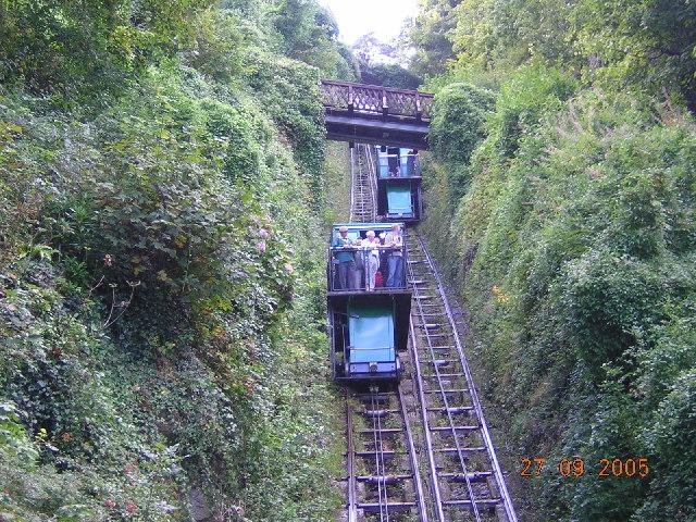 Lynton's Cliff Railway