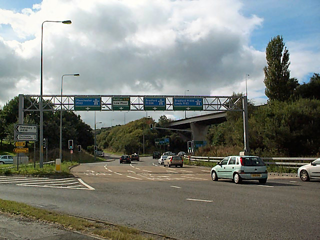 Chain Bar roundabout