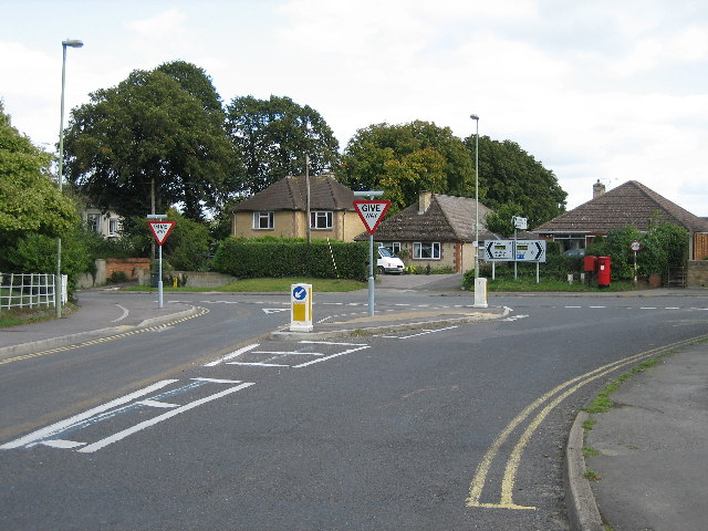 Junction - Highworth Road and Coxwell Road