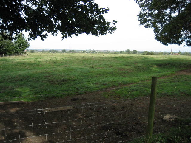View towards Mount Pleasant Farm