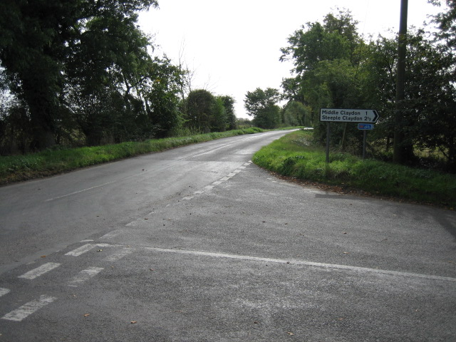 Sandhill, road junction