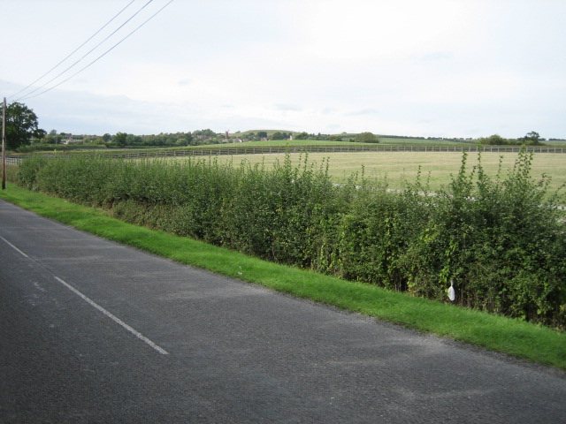 Looking towards Quainton