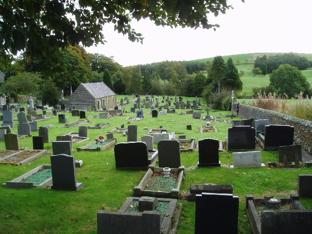 St Mary-le-Ghyll Cemetery, near Barnoldswick, Yorkshire