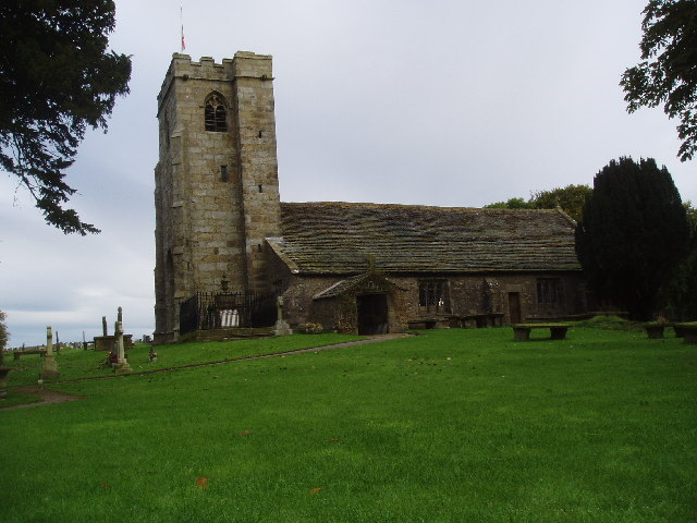 St Mary-le-Ghyll Church, near Barnoldswick, Yorkshire