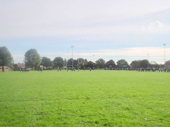 Heslam Park, home to Scunthorpe Rugby Club