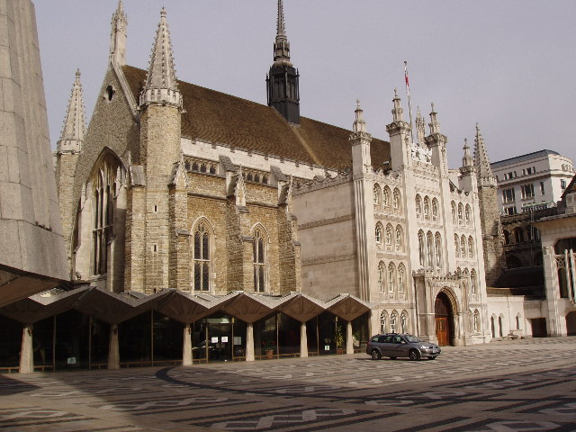 Guildhall.  Home of the City of London Corporation
