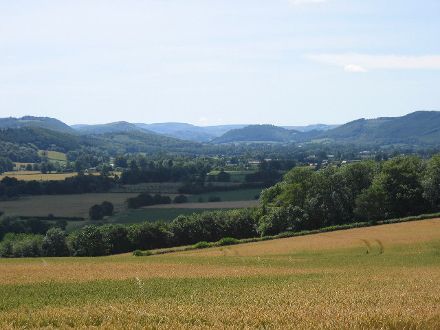 Upper Lugg valley