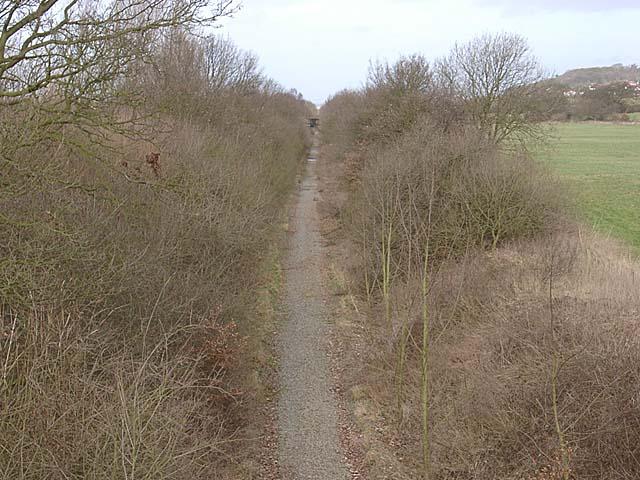 Old railway Alvanley