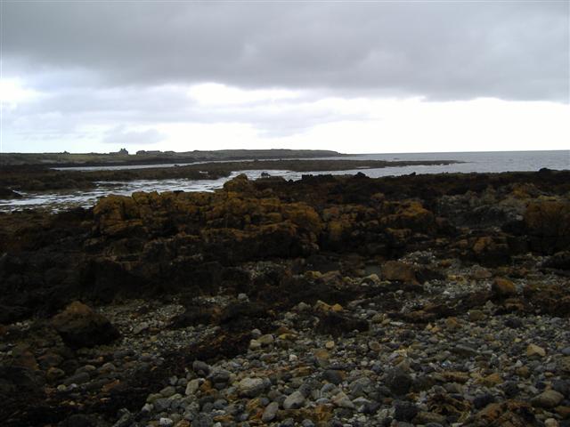 Rocky shore near Poyllvaaish