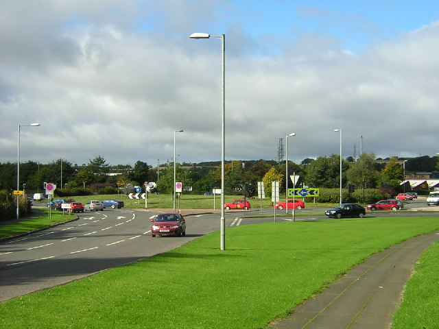 Whirlies Roundabout, East Kilbride