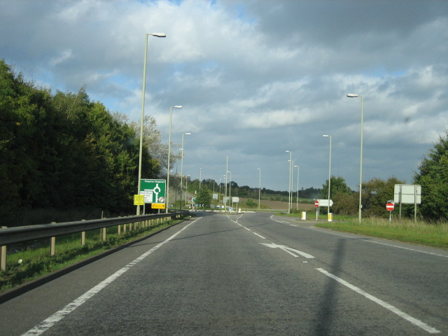 A420/Park Road roundabout