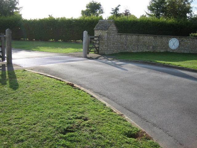 Entrance to Faringdon Golf Course