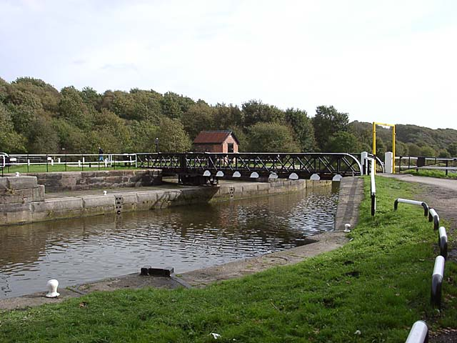 Newbridge swing bridge