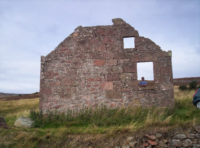 Ruin on the Cairn o' Mount Road