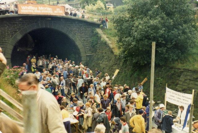 Summit Tunnel, North Portal