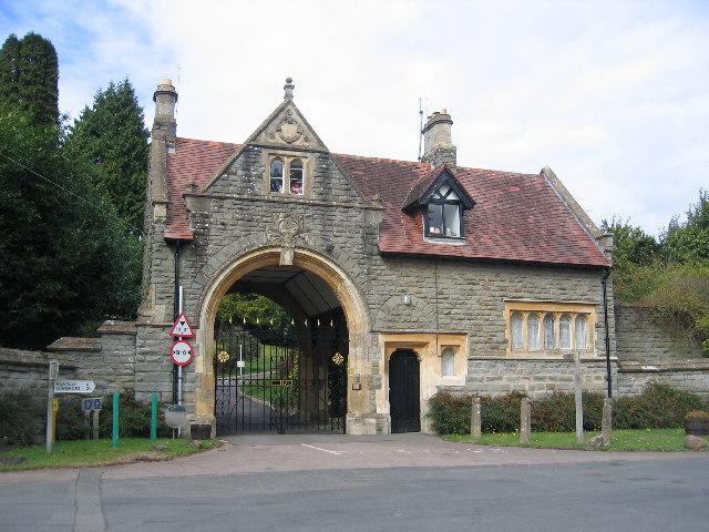 Blaisdon Hall Gateway