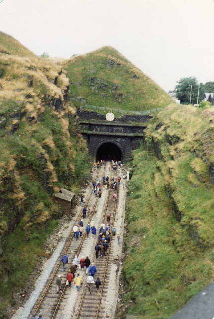Summit Tunnel, South Portal