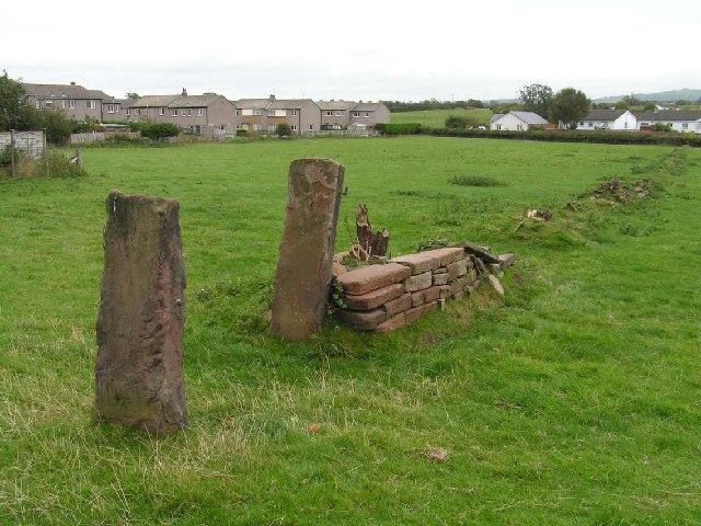 Old field gate near Wigton