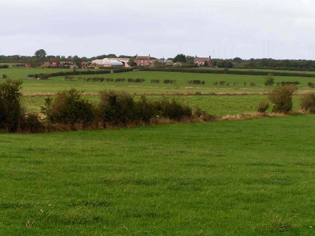 Farmland near Wedholme Hill