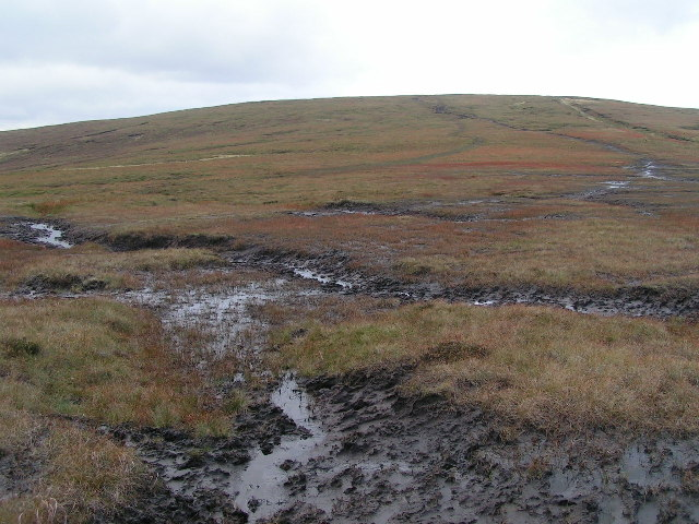Saddle between Brown Knoll and Horsehill Tor