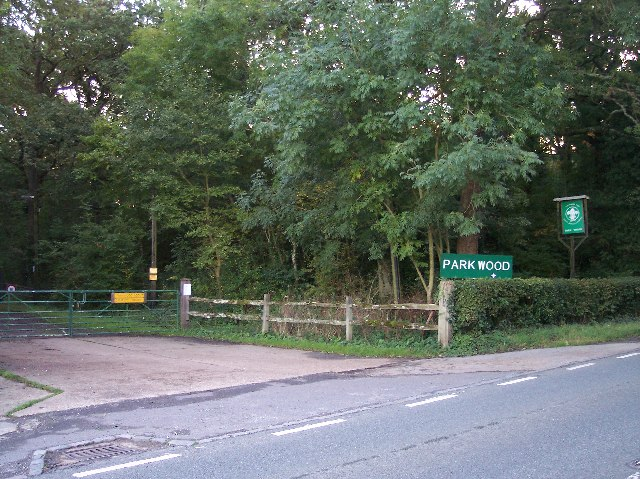 Entrance to Scout Camp at Park Wood