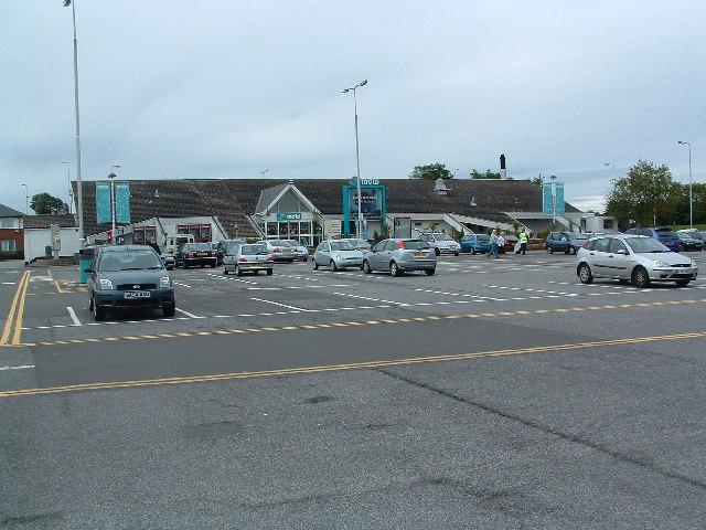 Woolley Edge Service Station, M1 Northbound