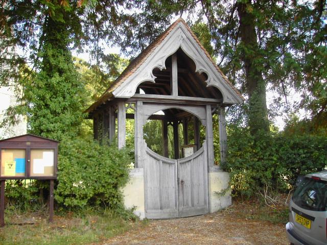 Lychgate to Ecchinswell Church