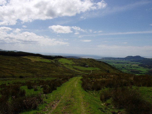 Path off Moelwyn Mawr towards Croesor