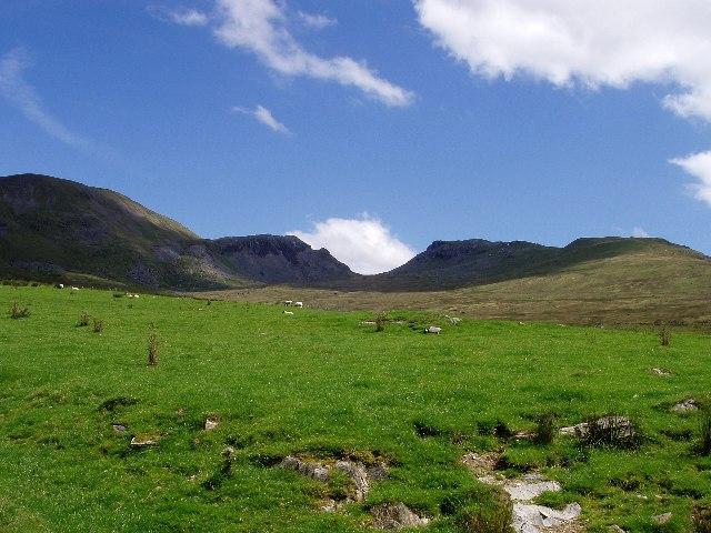 Boggy valley below Bwlch Stwlan