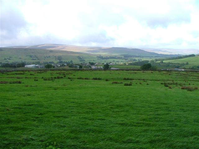 Across the Fields to Alston