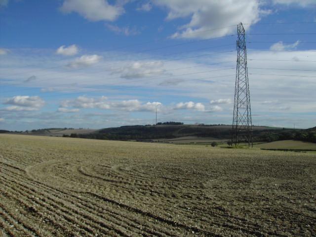 Pylon near Hannington