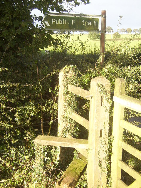 Stile near Highway Farm