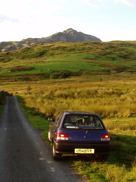 Minor road from Tan y Bwlch to Croesor