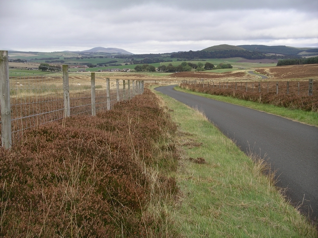 Road near Fallburn