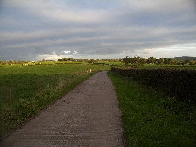 Track near Stoney Low