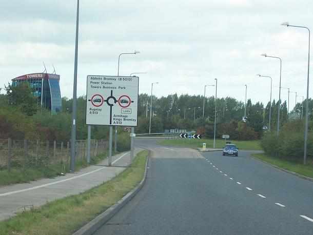 Development east of Rugeley
