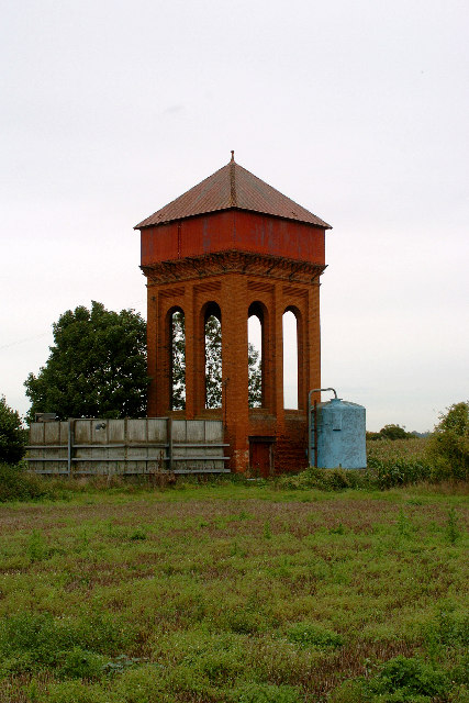 Water Tower near West Stow